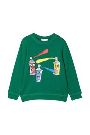 Felpa verde bambino STELLA MCCARTNEY KIDS | -108764232 | 603424SRJ673000