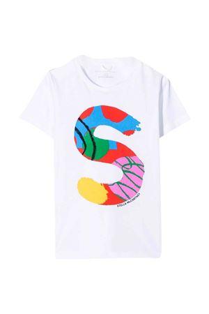 T-shirt bianca unisex STELLA MCCARTNEY KIDS | 8 | 603434SRJ539000