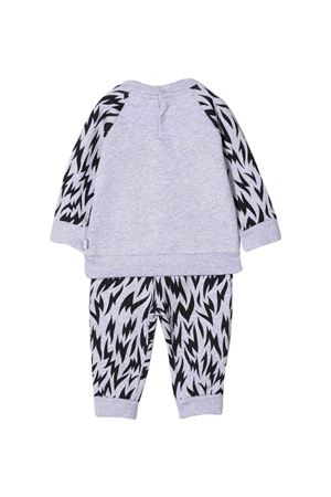 Grey and black jumpsuit  STELLA MCCARTNEY KIDS | 19 | 603511SRJ901461