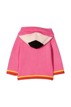 Pink cardigan with colored press  STELLA MCCARTNEY KIDS | 39 | 603522SRM225005