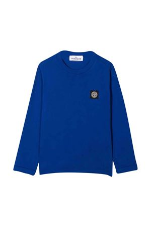 T-shirt blu bambino Stone Island STONE ISLAND JUNIOR | 8 | 751620447V0022