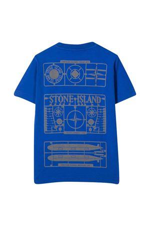 T-shirt blu bambino STONE ISLAND JUNIOR | 8 | 751621054V0022
