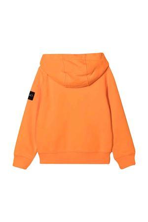Felpa arancione bambino STONE ISLAND JUNIOR | 5032280 | 751660740V0032