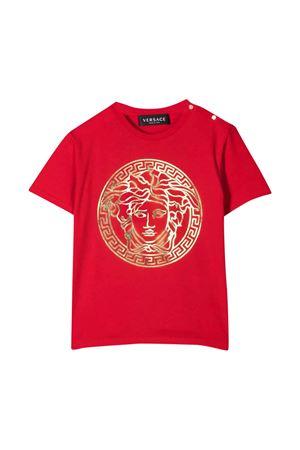 T-shirt rossa neonato VERSACE | 8 | 10001021A002292R110
