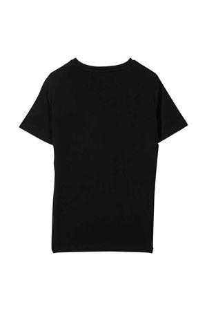 T-shirt nera bambino VERSACE | 8 | 10001291A013232B130
