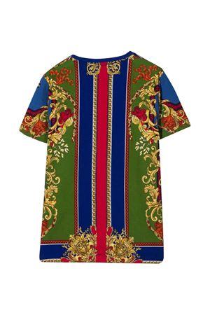 T-shirt blu unisex VERSACE | 8 | 10001291A013835U020