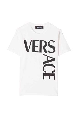 T-shirt bianca unisex VERSACE | 8 | 10002391A013302W020
