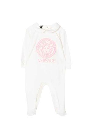 Tutina neonato bianca VERSACE | 1491434083 | 10002871A002302W160