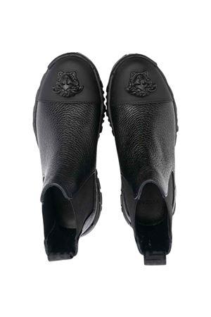 Stivali neri con testa di medusa VERSACE | 12 | 10005131A006631B000