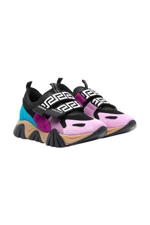 Sneakers con stampa multicolor VERSACE | 12 | 10005151A011646B460B