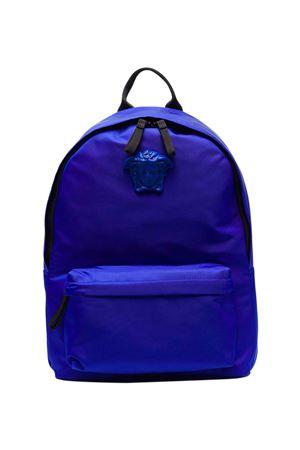 Zaino blu e nero VERSACE | 5032345 | 10016291A012752U530