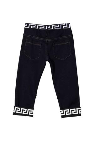 Jeans Greca neonato VERSACE | 9 | 10016431A013206U140