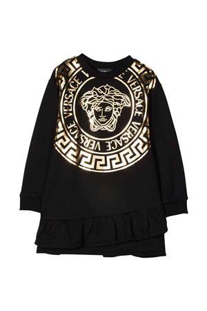 black sweatshirt dress VERSACE | 11 | 10016801A013282B130