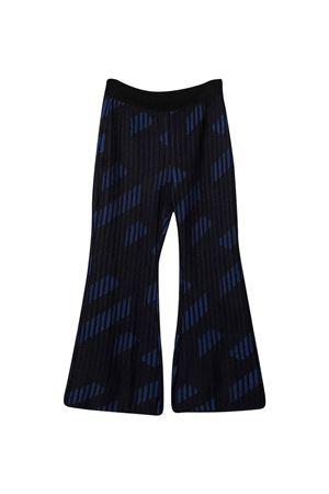 Pantaloni blu/neri unisex VERSACE | 9 | 10022881A015185U180