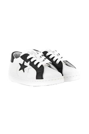 White with black detail sneakers 2Star kids 2Star kids | 12 | 2SB1501BIANCONERO