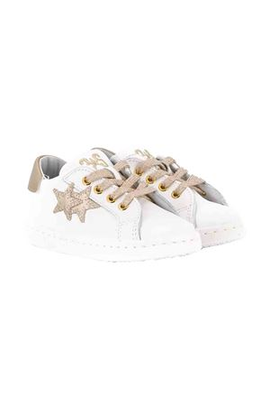 White with gold details sneakers 2Star kids 2Star kids | 12 | 2SB1503BIANCOORO