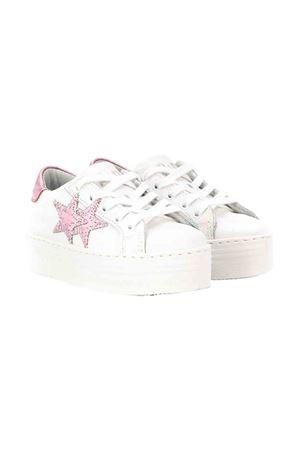 White and rose sneakers 2Star kids 2Star kids | 12 | 2SB1541BIANCOROSA