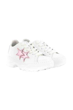 White and rose teen sneakers 2Star kids 2Star kids | 12 | 2SB1571BIANCOROSAT