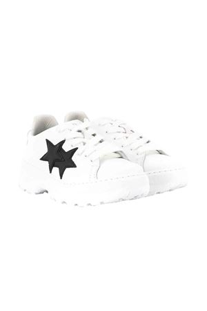 White and black teen sneakers 2Star kids 2Star kids | 12 | 2SB1573BIANCONEROT