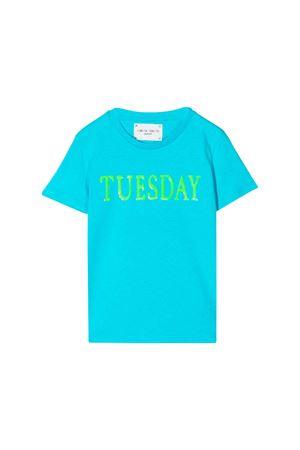 Alberta Ferretti kids turquoise girl t-shirt  Alberta ferretti kids | 8 | 020303051