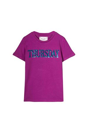 Alberta Ferretti kids purple t-shirt  Alberta ferretti kids | 8 | 020303070T