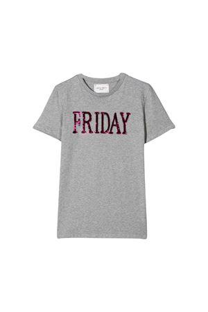 Alberta Ferretti kids gray t-shirt  Alberta ferretti kids | 8 | 020303101