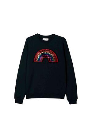 Alberta Ferretti kids black sweatshirt  Alberta ferretti kids | 7 | 020306060