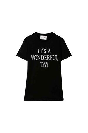 T-shirt nera bambina Alberta Ferretti kids Alberta ferretti kids | 8 | 020316110