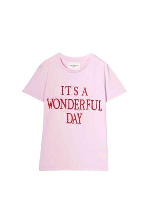 Alberta Ferretti kids light pink t-shirt Alberta ferretti kids | 8 | 020324042