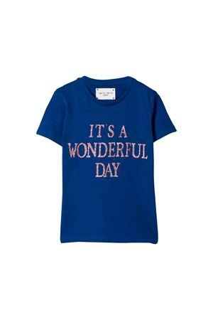Alberta Ferretti kids blue t-shirt Alberta ferretti kids | 8 | 020324061