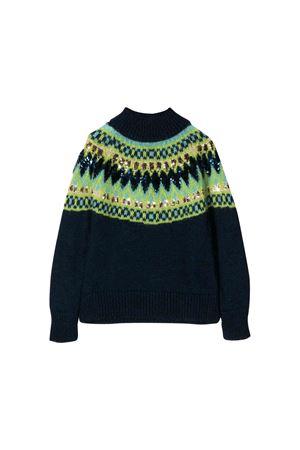 Blue sweater Alberta Ferretti kids Alberta ferretti kids | 7 | 021193060