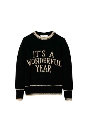 Alberta Ferretti kids black sweater  Alberta ferretti kids | 7 | 021348110