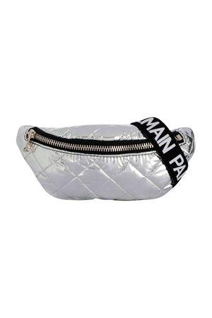 Balmain kids silver baby pouch bag  BALMAIN KIDS | -962723037 | 6L0648LD380925
