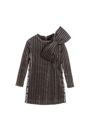 SILVER DRESS GIRL BALMAIN KIDS  BALMAIN KIDS | 11 | 6L1010LA270925NE