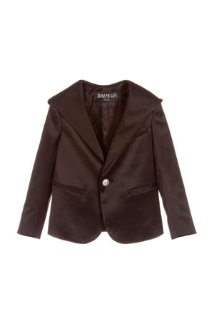 BLACK GIRL JACKET BALMAIN KIDS  BALMAIN KIDS | 3 | 6L2504LB590930