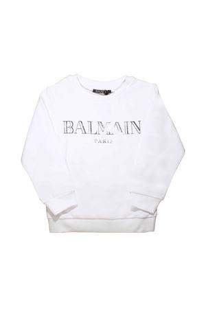WHITE SWEATSHIRT BALMAIN KIDS BALMAIN KIDS | -108764232 | 6L4520LX170100