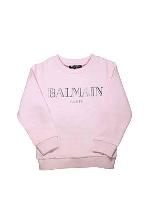 PINK SWEATSHIRT BALMAIN KIDS TEEN  BALMAIN KIDS | -108764232 | 6L4520LX170502T