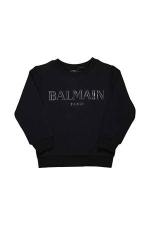 BLACK SWEATSHIRT BABY BALMAIN KIDS BALMAIN KIDS | -108764232 | 6L4520LX170930