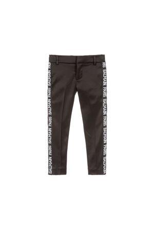 BLACK BALMAIN KIDS TEEN PANTS BALMAIN KIDS | 9 | 6L6500LB590930T