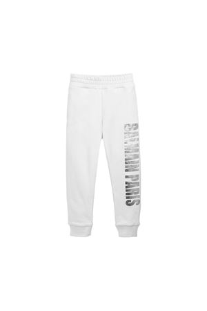BALMAIN KIDS WHITE PANTS  BALMAIN KIDS | 9 | 6L6627LC930100