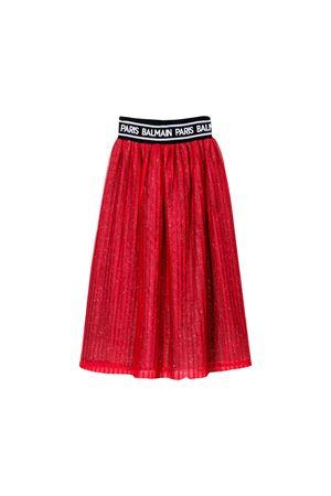 Balmain kids red long skirt BALMAIN KIDS | 15 | 6L7030LB610409T