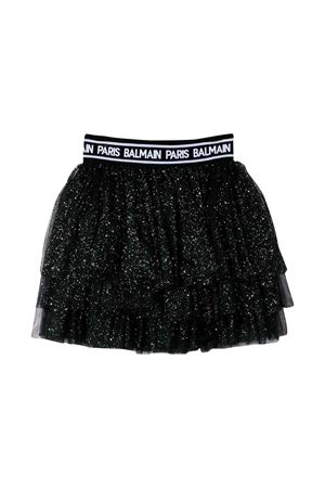 Black Balmain kids teen skirt  BALMAIN KIDS | 15 | 6L7040LB620930T
