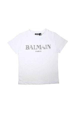 T-SHIRT BIANCA BALMAIN KIDS TEEN BALMAIN KIDS | 8 | 6L8021LX160100AGT