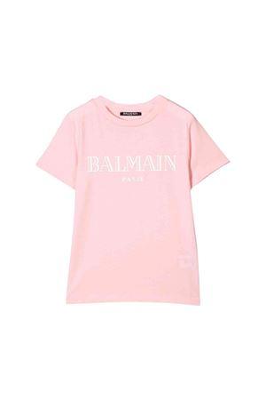 T-shirt rosa bambina Balmain kids BALMAIN KIDS | 8 | 6L8021LX160502