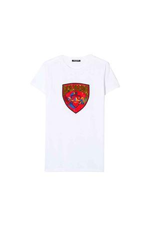 White Balmain kids t-shirt  BALMAIN KIDS | 8 | 6L8031LC750100