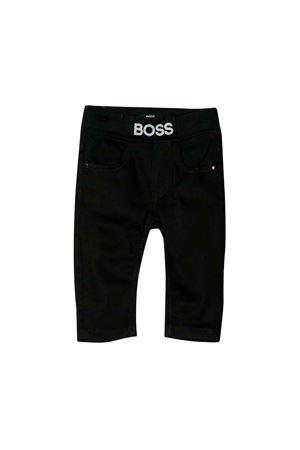 Boss kids black trousers  BOSS KIDS | 9 | J04353Z11