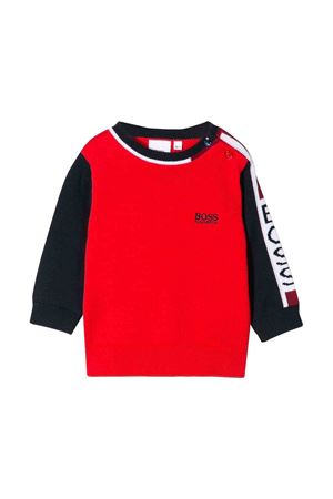 Red sweatshirt Boss kids  BOSS KIDS | -1384759495 | J05729X78