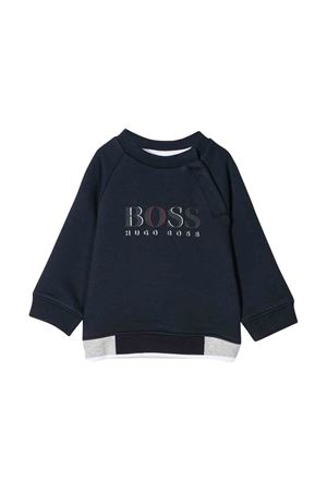Navy blue sweatshirt Boss kids  BOSS KIDS | -108764232 | J05735849