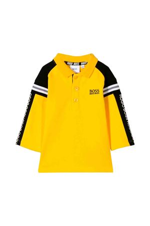 Boss kids yellow polo shirt  BOSS KIDS | 2 | J05748536