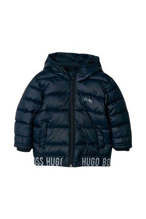 Boss kids blue down jacket BOSS KIDS | 783955909 | J06199849